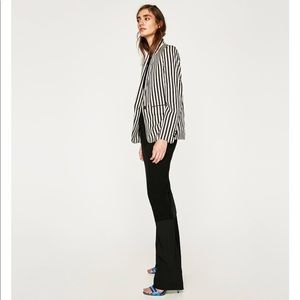 Striped Two tones Striped Jacket, NWT